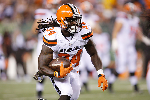 designer fashion bda6e 13885 Browns Place Second-Round Tendor on Isaiah Crowell; Working ...