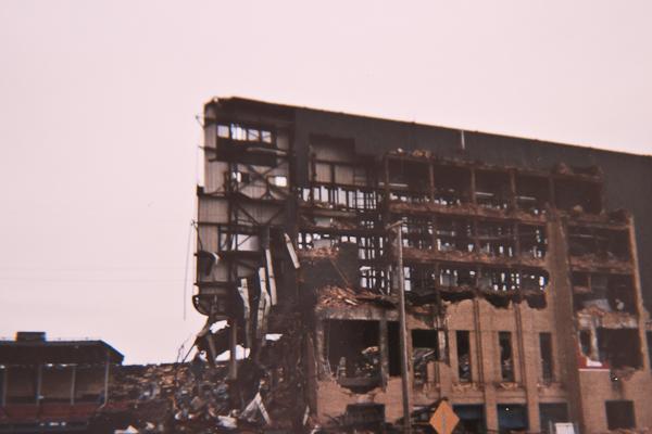 Cleveland Municipal Stadium Demolition November 1996