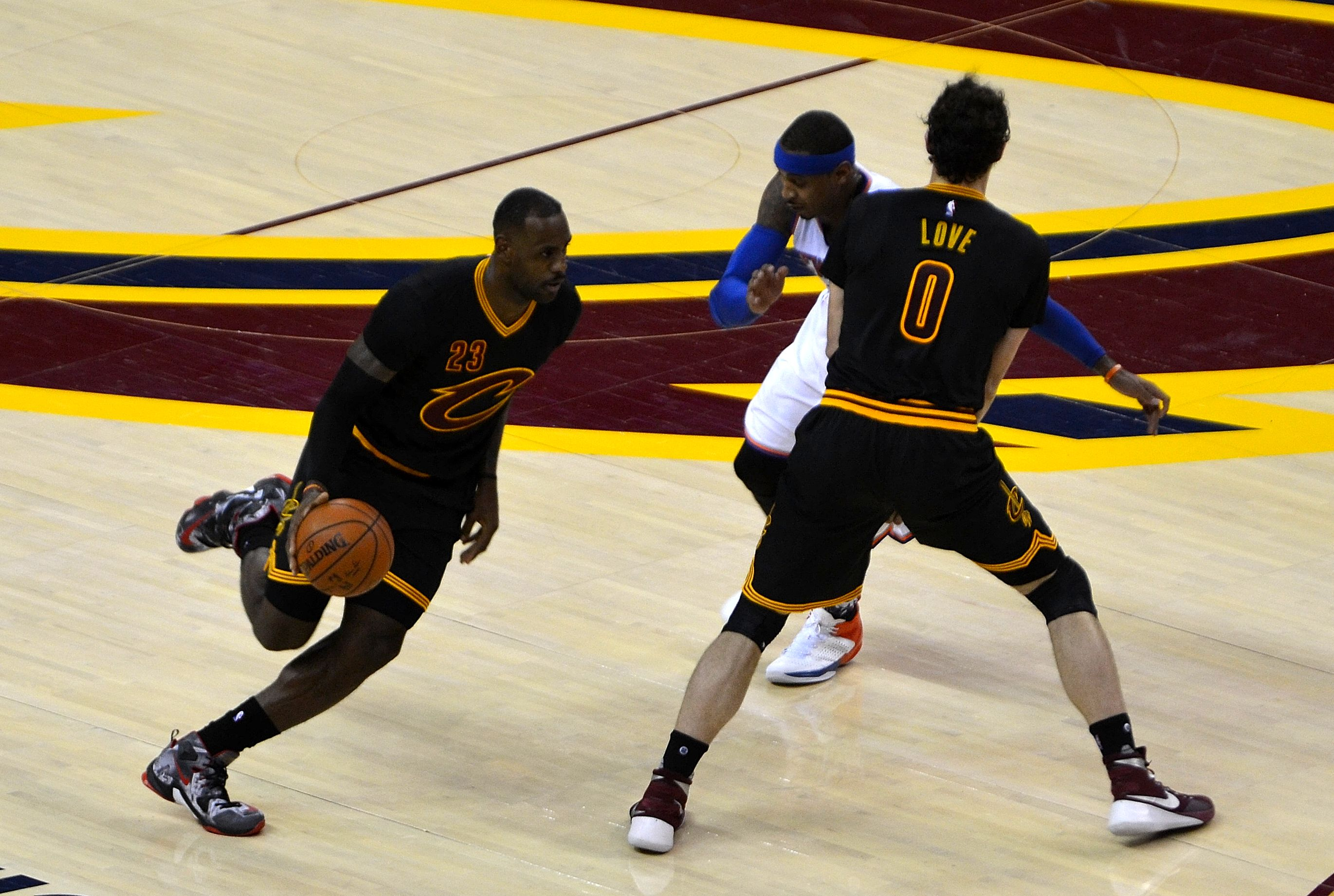 17400208aa1 Twitter Speaks Out on Cavaliers New Black Sleeved Jersey Uniforms