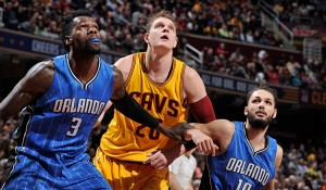Despite not starting for the third consecutive game, Timofey Mozgov showed signs of live against the Magic.