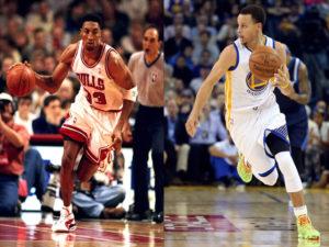 Curry vs. Pippen