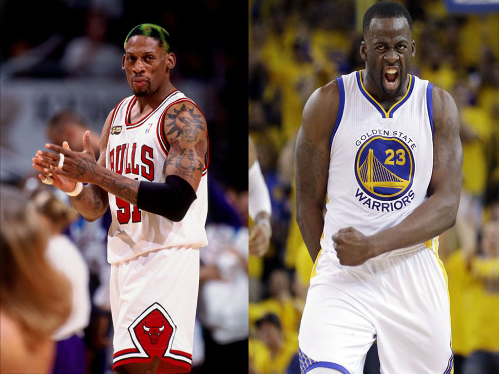 Image result for dennis rodman and draymond green