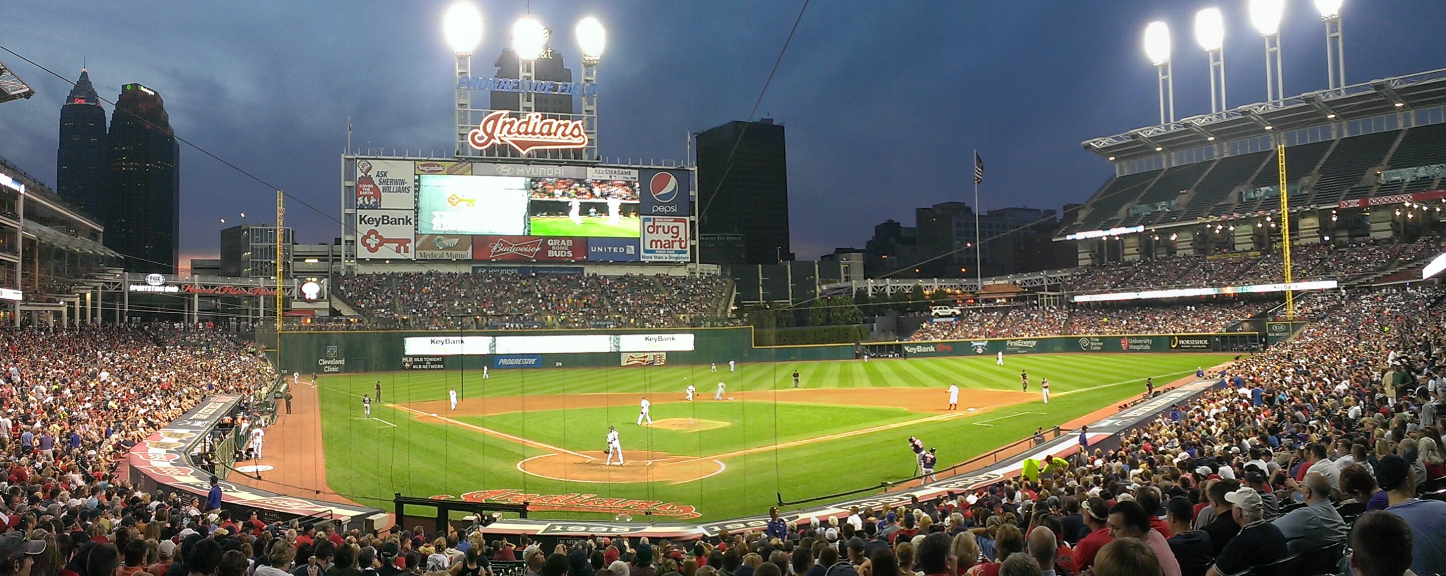 Indians To Host Watch Parties of World Series Road Games at