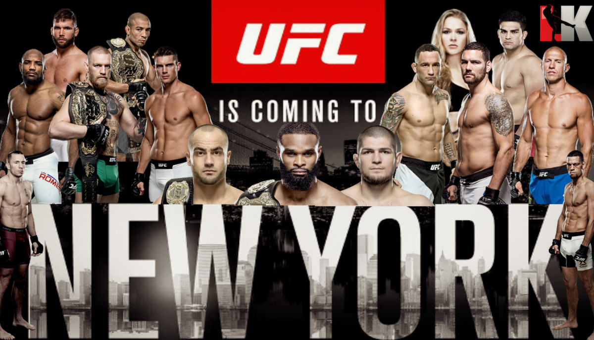 LIVE UFC 205 RESULTS AS THEY H...