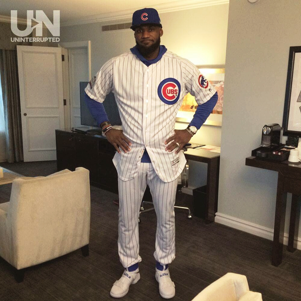 LeBron James pays off World Series bet with Dwyane Wade - Sports ...