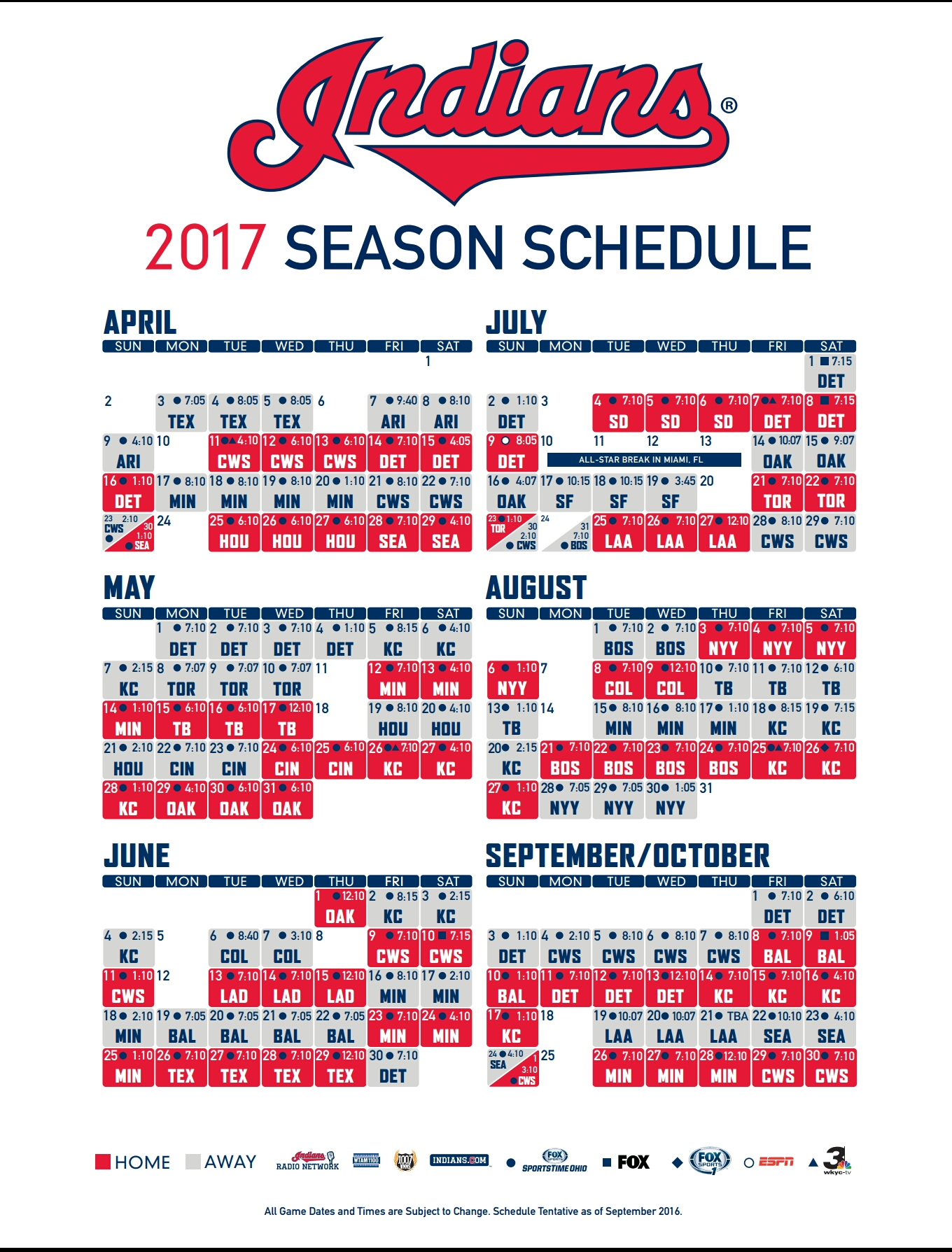 Universal image in indians printable schedule