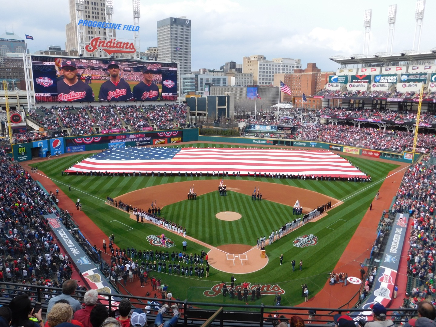 Watch the New Indians Progressive Field 2017 Hype Up Video