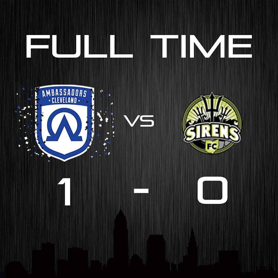Wpsl cleveland ambassadors remain hot with 1 0 victory over the win their second in two days pushed their regular season record to 5 1 1 the ladies from the shores of lake erie are a real threat to take home the biocorpaavc Images