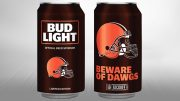Bud Light Cleveland Browns 2017 can