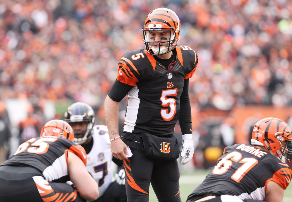 Browns Reportedly Agreed To A J Mccarron Deal With Bengals Forget To Inform League Of Trade