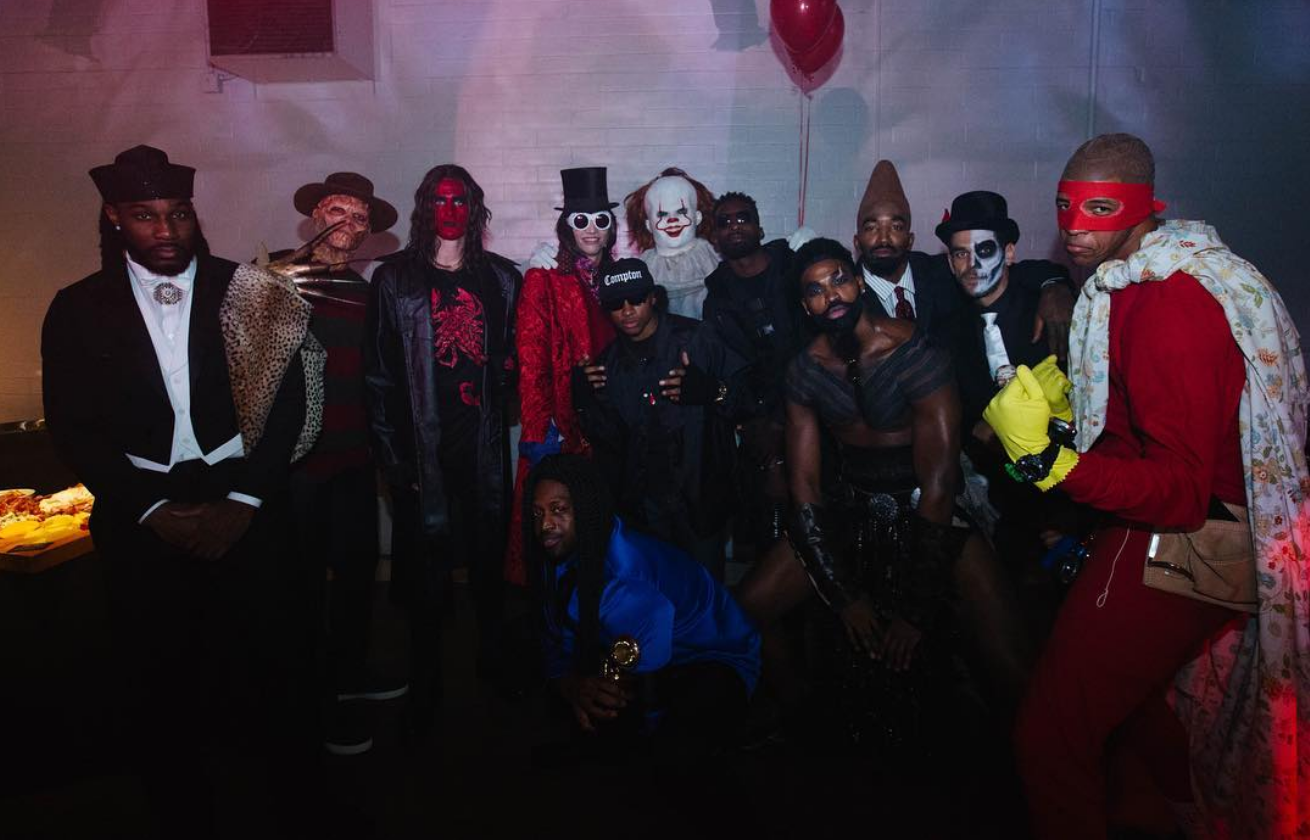 9862b9c86d5 Cavs Have Some Fun With Halloween Party  Who Was The Best-Dressed Player