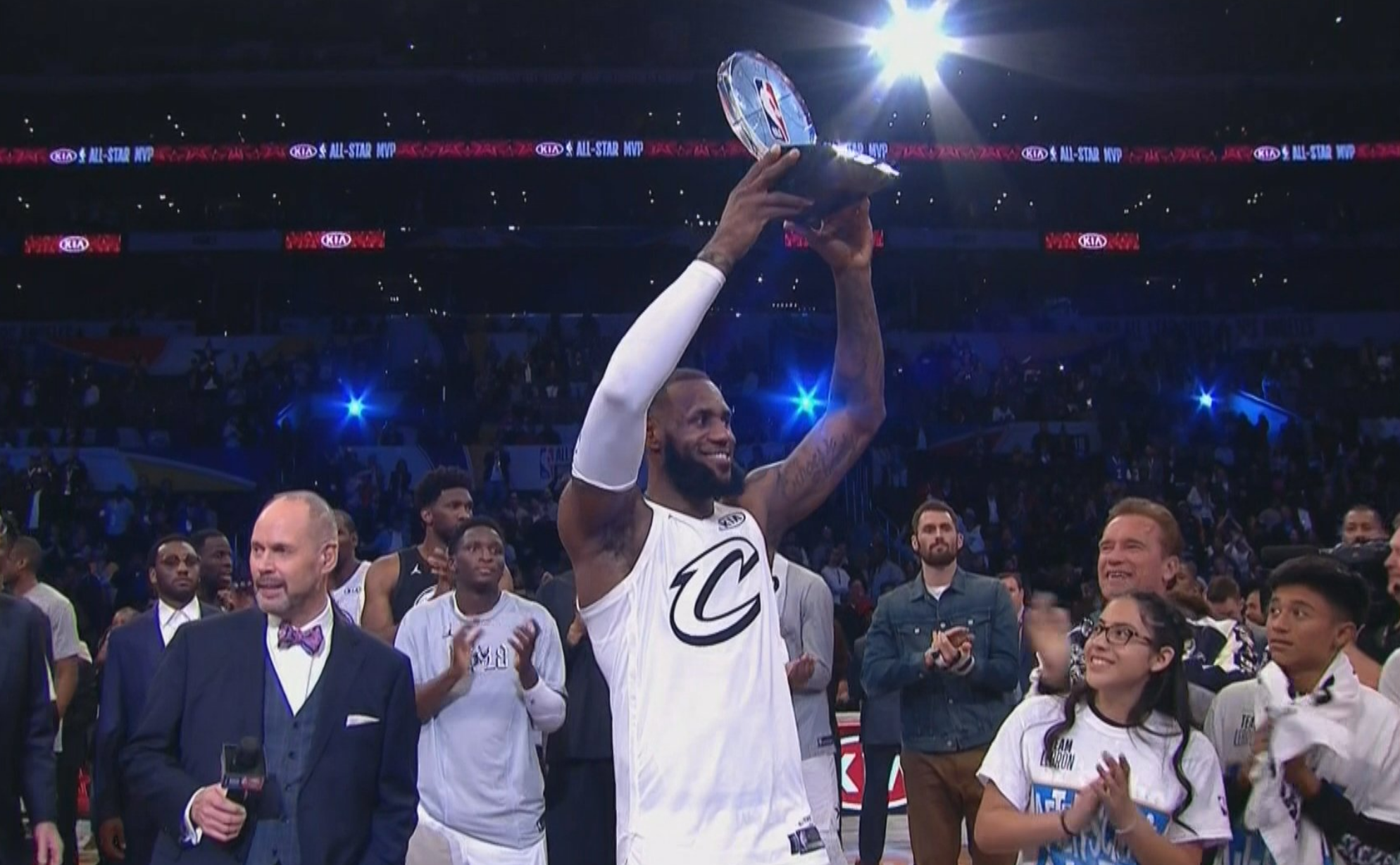 0491521ba560 LeBron James wins MVP after leading Team LeBron to victory in new All-Star  Game format