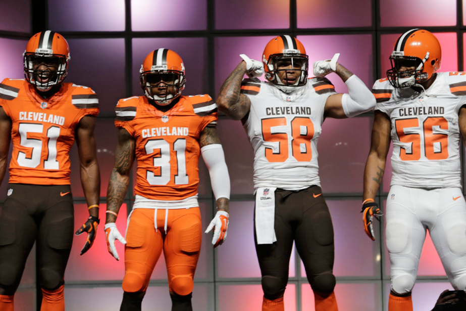 outlet store 50c6a 78d9c Report: Browns Considering Removing Watermark From Jerseys ...