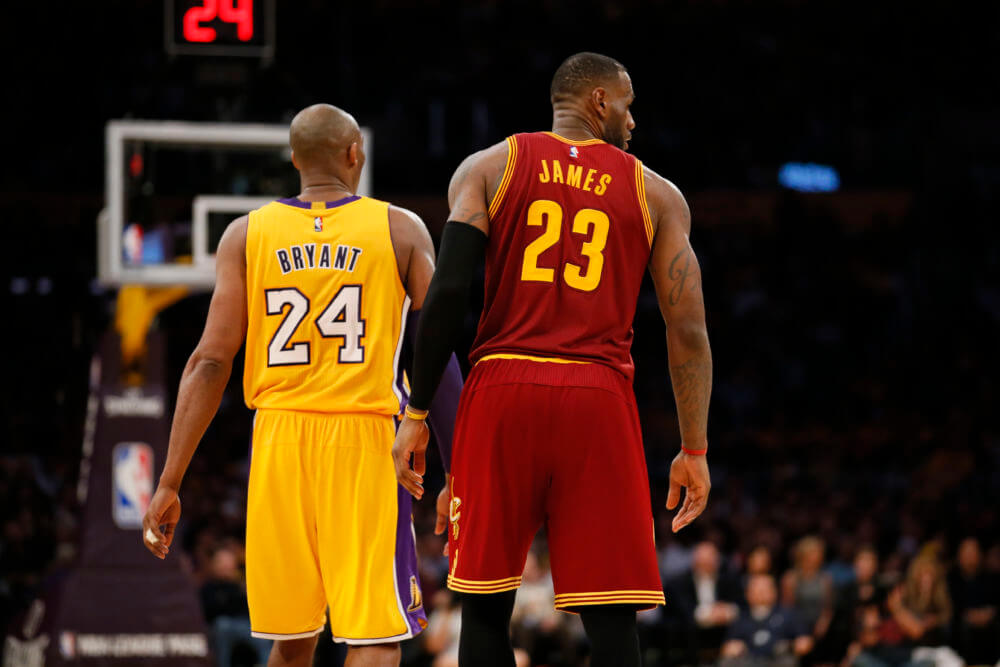 a0b0c5e36044 LeBron James Gives Some Love to Kobe Bryant After His Sunday Oscar Win