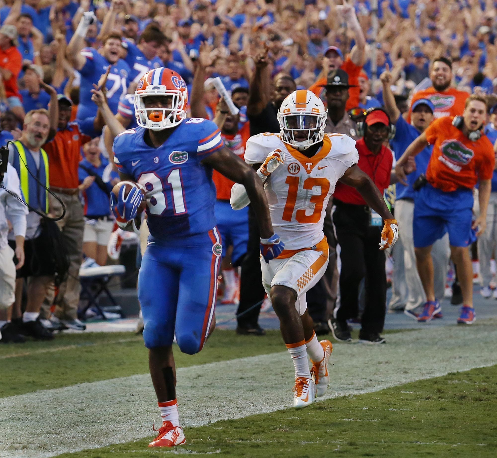 a901adea6 Browns Draft Florida Wide Receiver Antonio Callaway With 105th Pick In 2018  NFL Draft