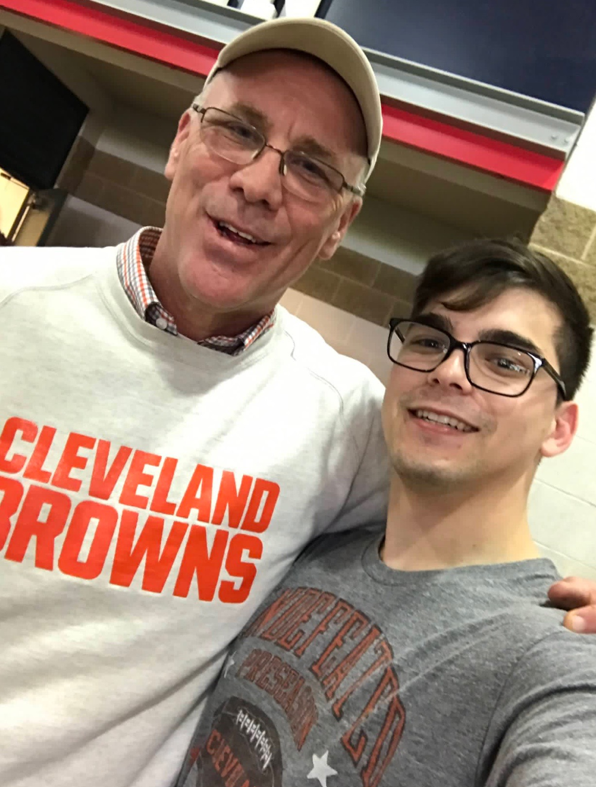 f6c6129a Browns General Manager John Dorsey Enjoys His Wednesday At Indians Game