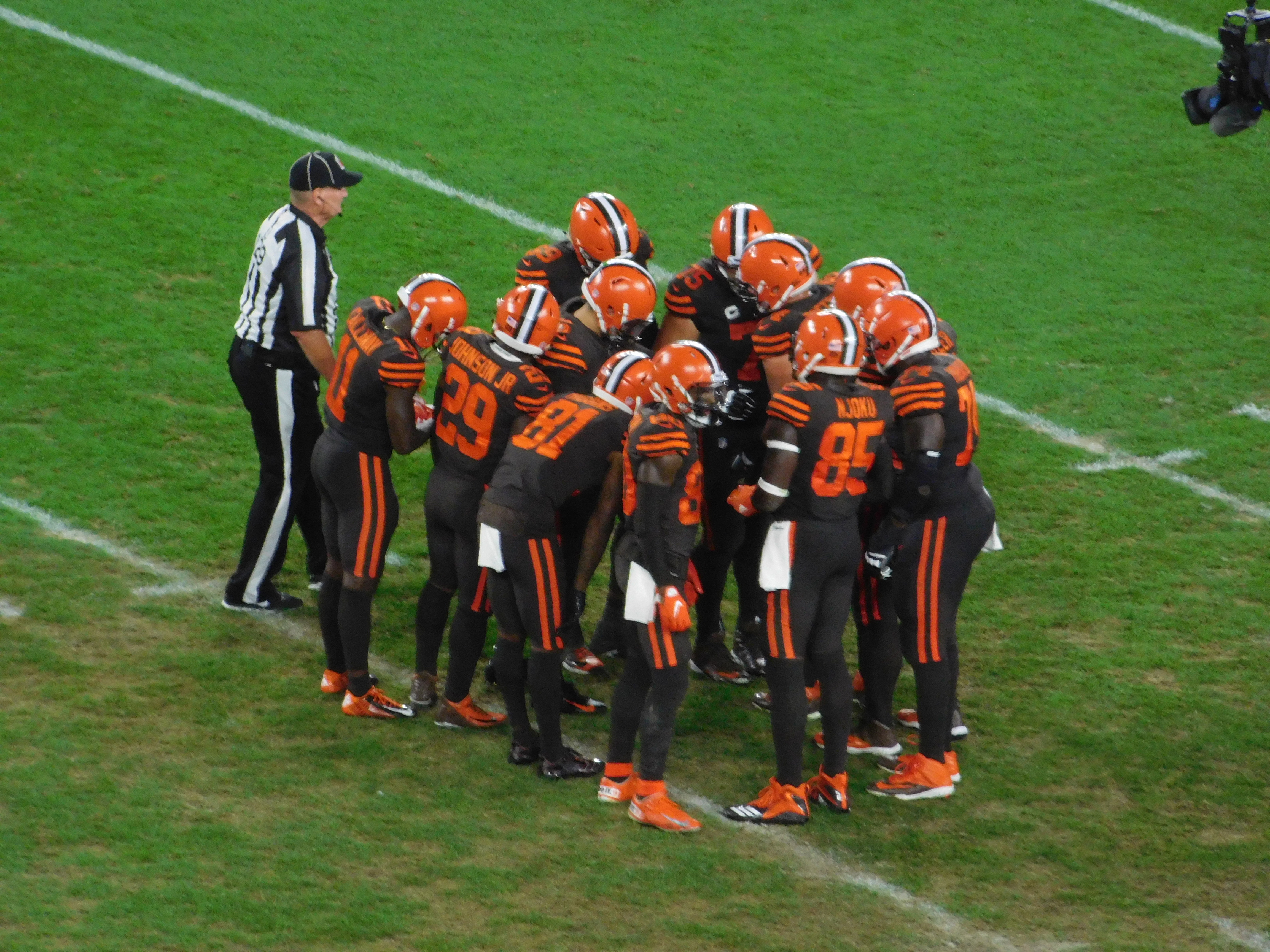 Browns Color Rush 2020.Browns Color Rush Jerseys Now The Team S Primary Uniform