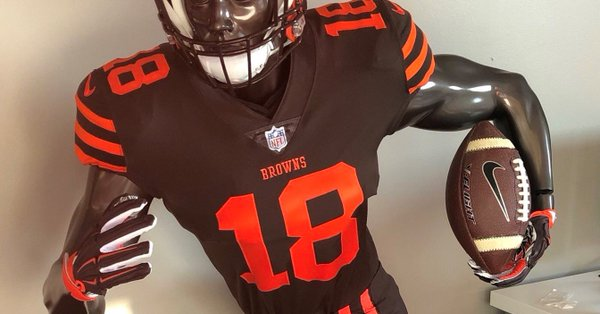 detailed look 3a5de 51781 Browns jerseys will get a much needed makeover in 2020