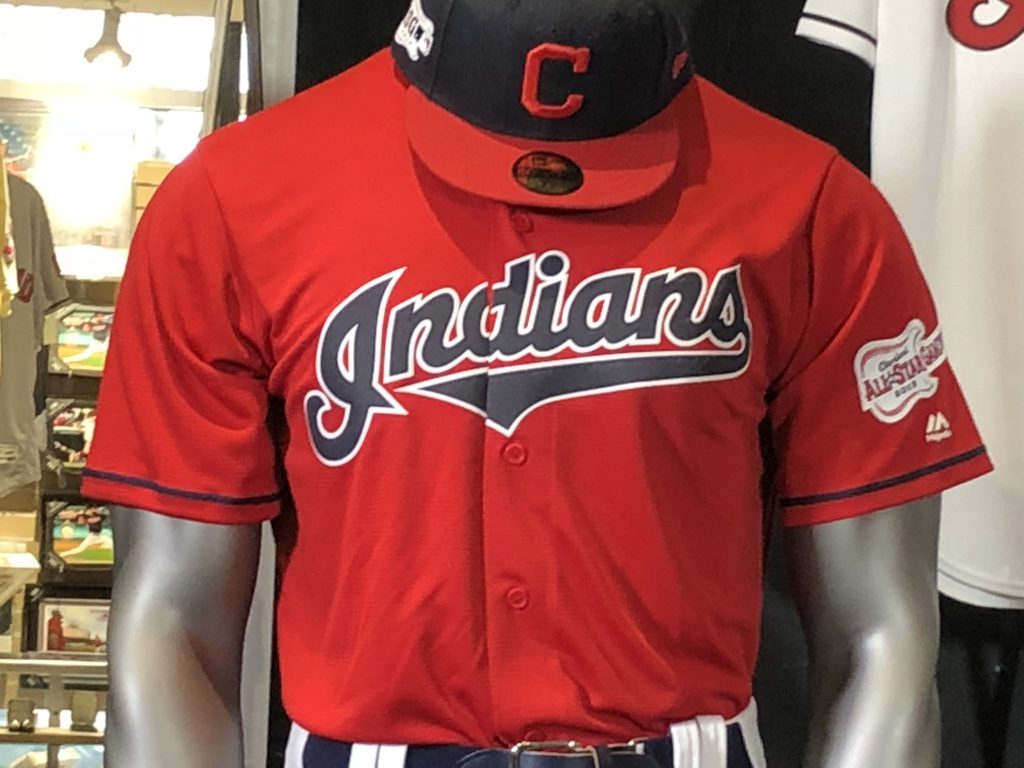 indians unveil new uniforms for 2019 show off new red