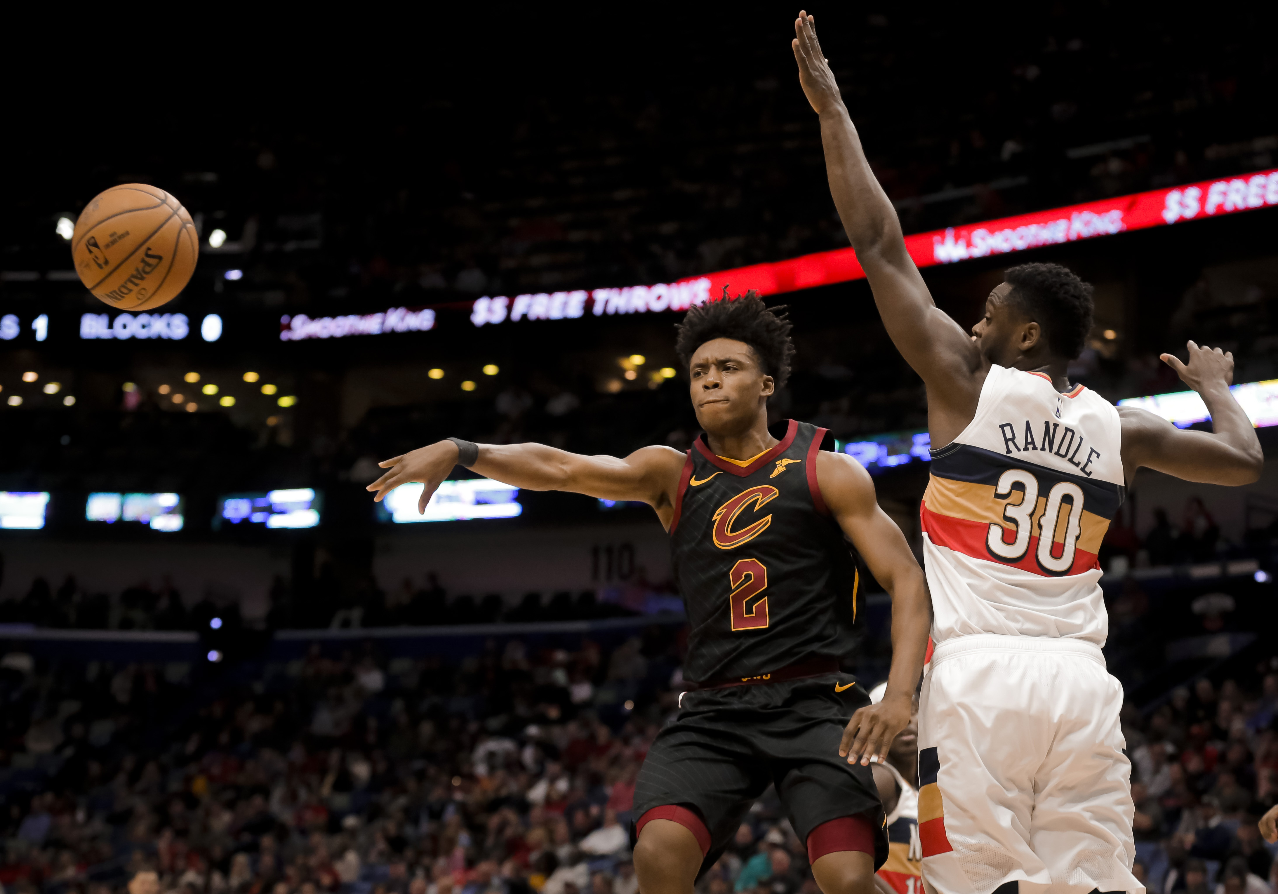 d9ff424e99d8 Cleveland Cavaliers rookie point guard Collin Sexton has faced a lot of  criticism this season