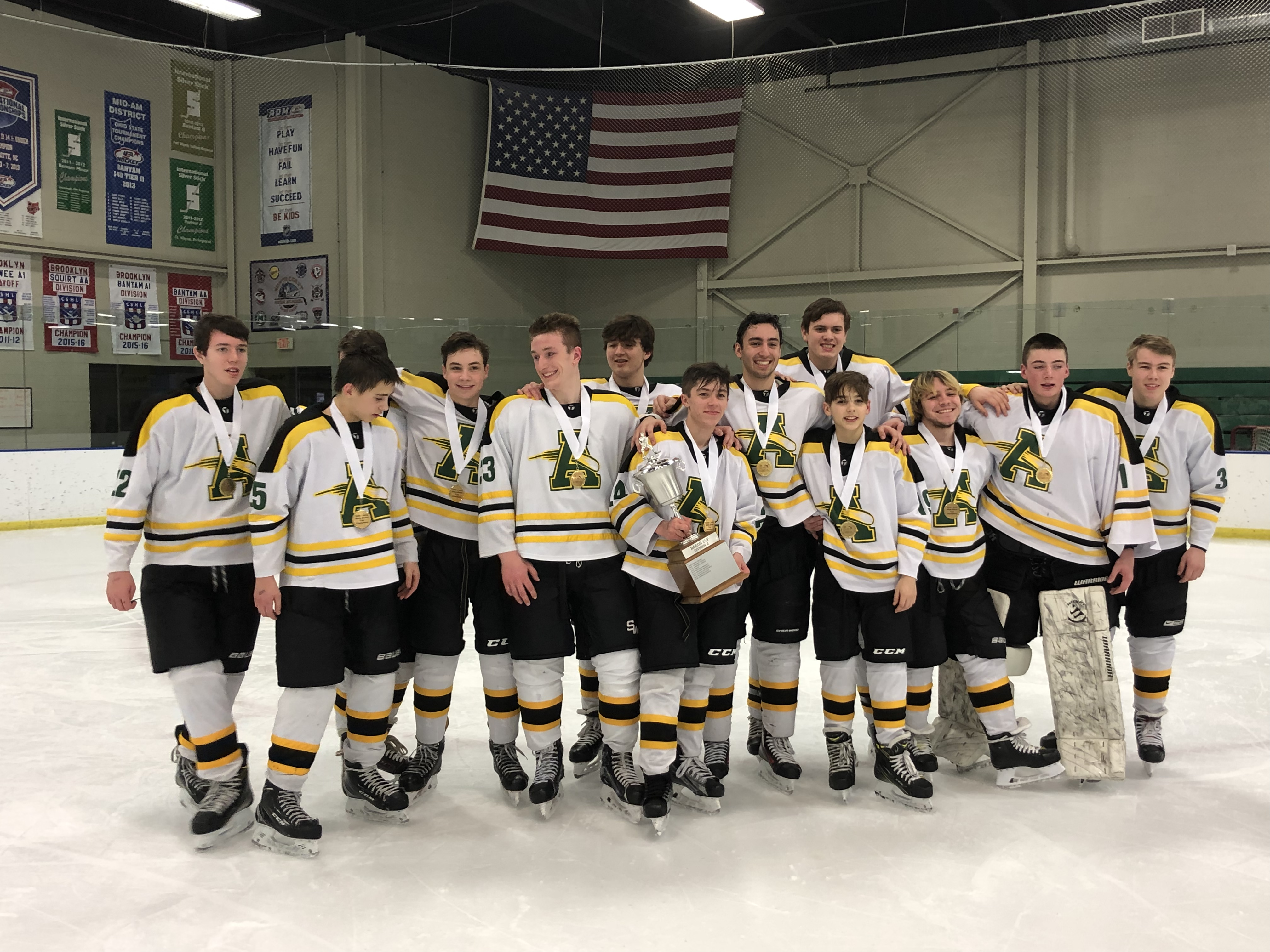 00e7af6c2 Baron Cup 2019  Amherst Comets Clinch Second Straight Baron Cup II Title   Top Midview 7-1