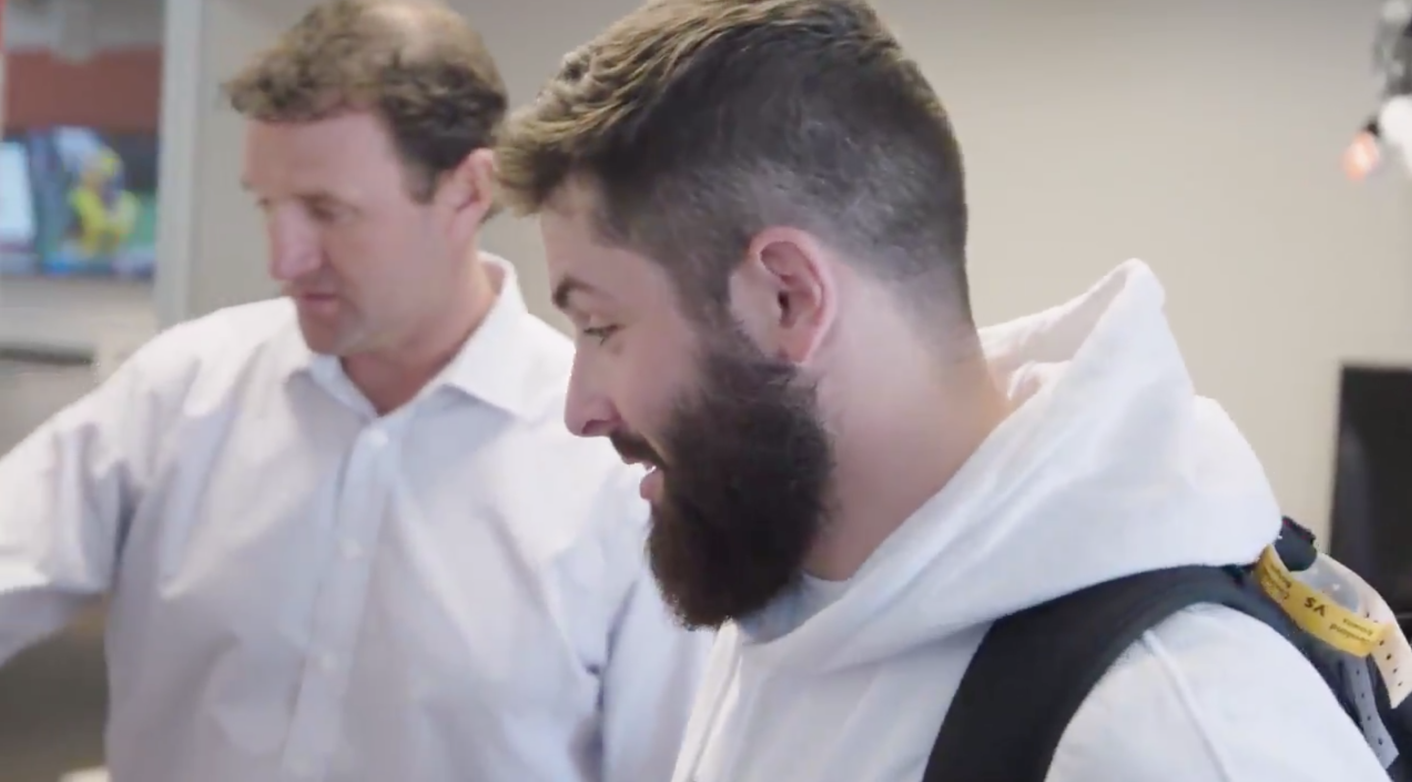 pretty nice 9ba0f a6041 WATCH: Baker Mayfield gets a sneak peak at the Browns 2020 ...