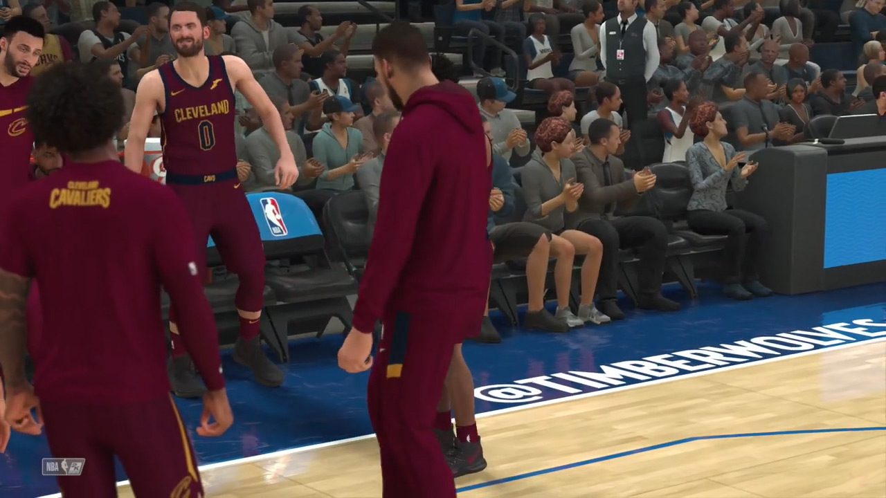 NBA 2K21 - Cleveland Cavaliers